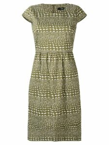Steffen Schraut short-sleeve flared dress - Green
