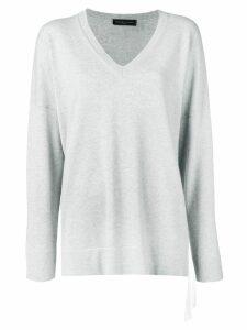 Fabiana Filippi oversized cashmere jumper - Grey