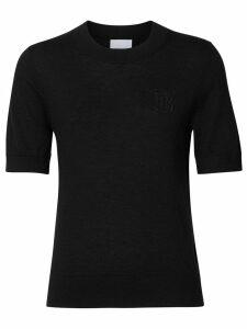 Burberry monogram sweater - Black