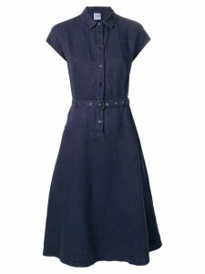 Aspesi belted shirt dress - Blue