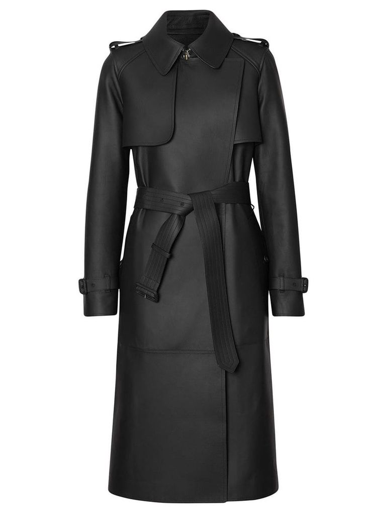 Burberry classic belted trench coat - Black