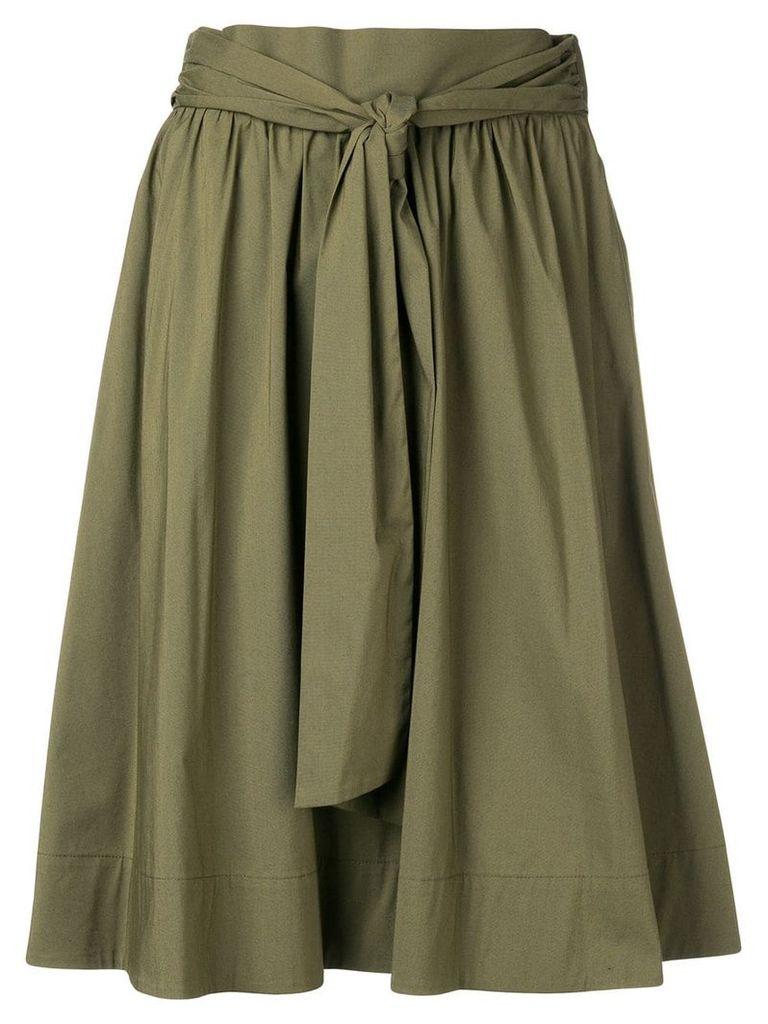 Steffen Schraut high-waisted skirt - Green