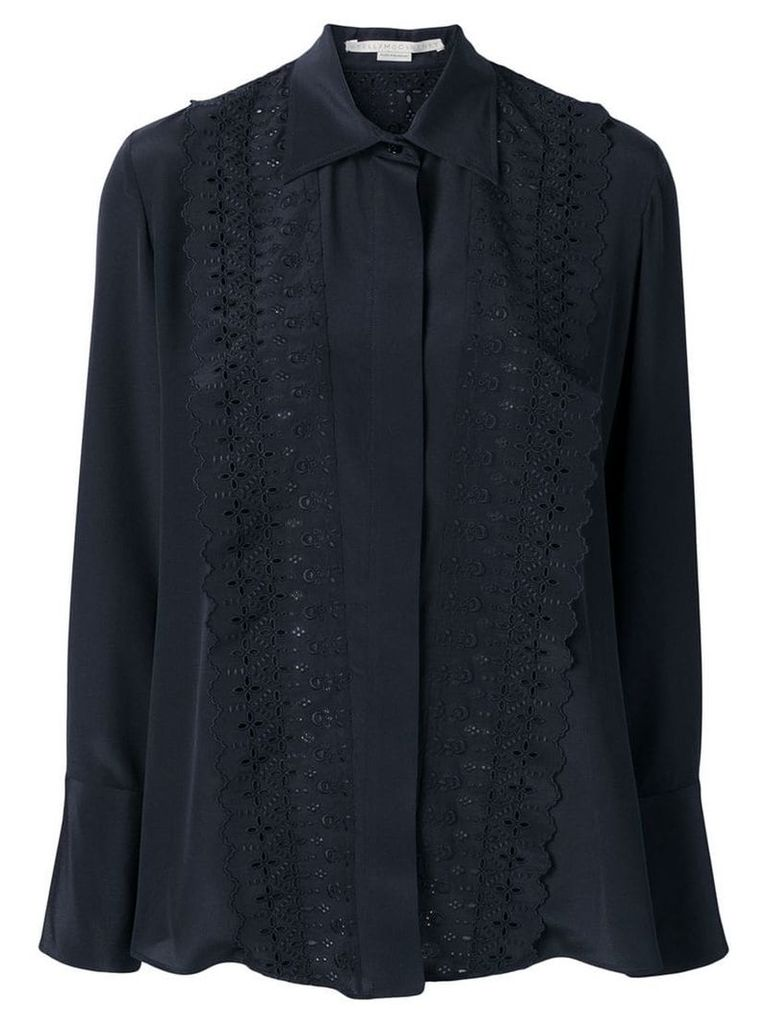 Stella McCartney ruffled shirt - Blue