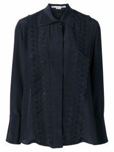 Stella McCartney ruffled shirt - Blue