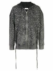 Faith Connexion star studded jacket - Grey