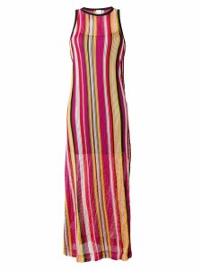 Pinko striped jersey dress - Black