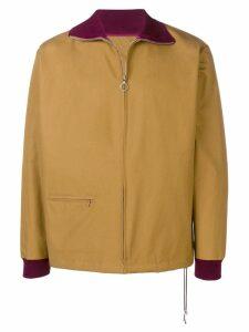 Anglozine Tilson zipped jacket - Brown