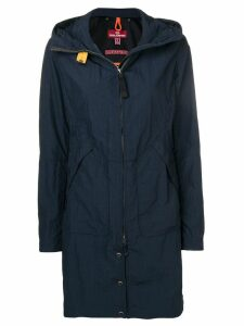Parajumpers hooded shell raincoat - Blue