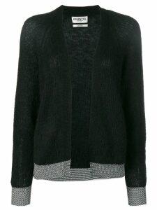 Essentiel Antwerp knitted cardigan - Black