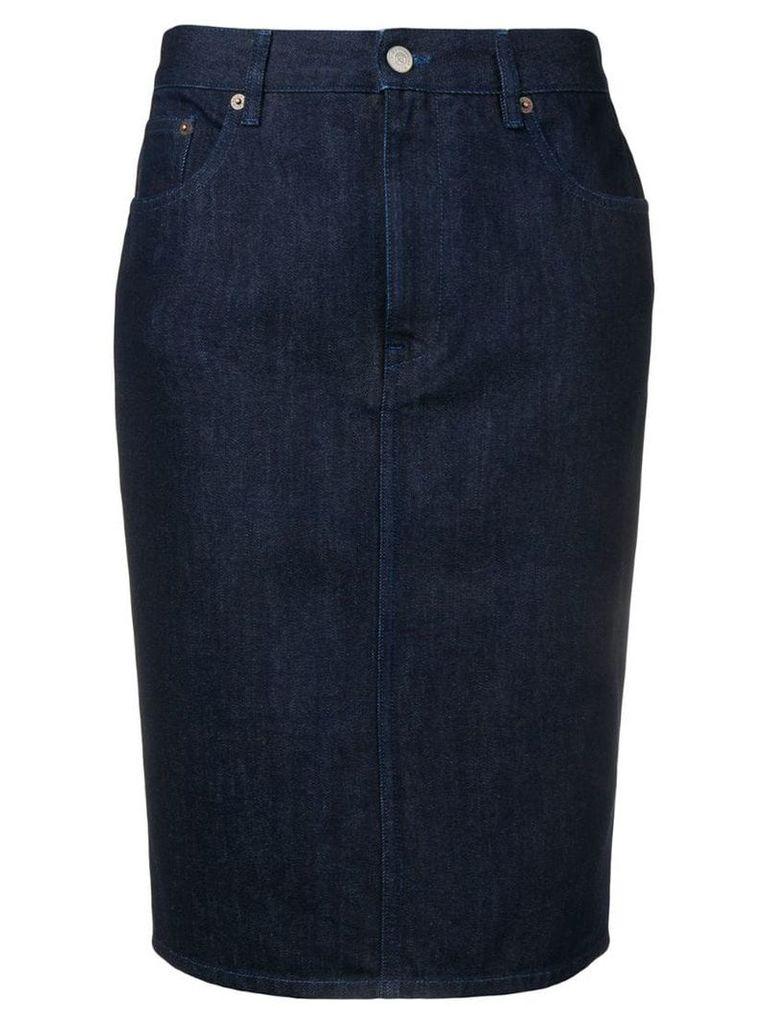 Mm6 Maison Margiela denim skirt - Blue