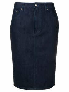Mm6 Maison Margiela denim skirt - Blue