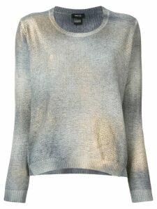 Avant Toi metallic jumper - Grey