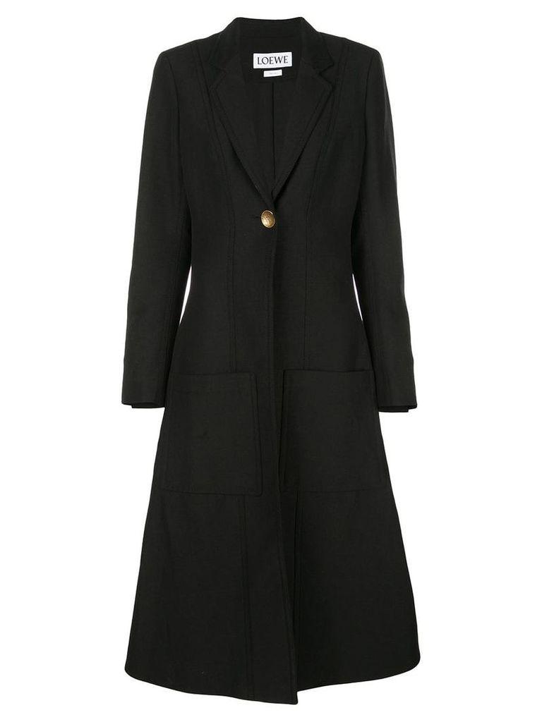Loewe Botanical patch coat - Black