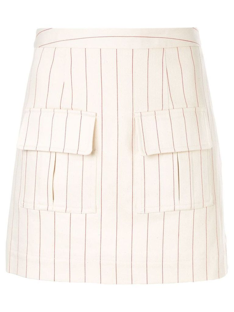 Maggie Marilyn We Can Climb This Mountain skirt - Neutrals