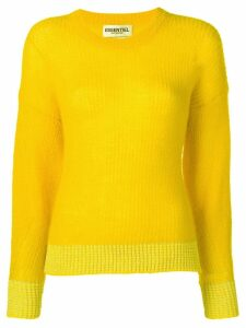 Essentiel Antwerp knitted jumper - Yellow