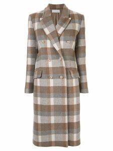 Rebecca Vallance Vivian long coat - Brown