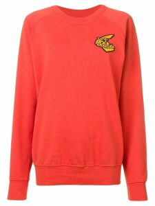 Vivienne Westwood Anglomania logo patch jumper - Red