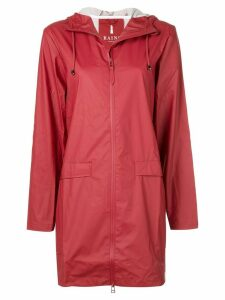 Rains hooded rain jacket - Red