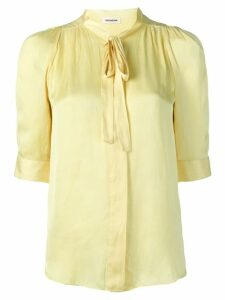 Zadig & Voltaire Touch satin blouse - Yellow