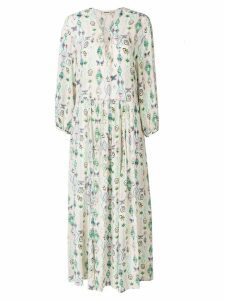 Zadig & Voltaire printed long dress - Neutrals