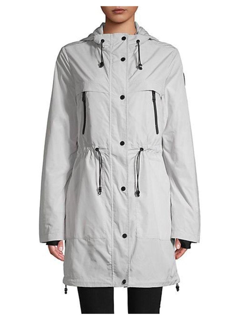 Classic Hooded Raincoat