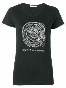 Société Anonyme scribble T-shirt - Black
