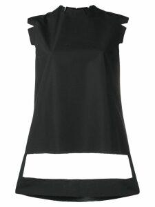 Maison Margiela décortiqué detailed shirt - Black