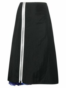 Maison Margiela zipped midi skirt - Black