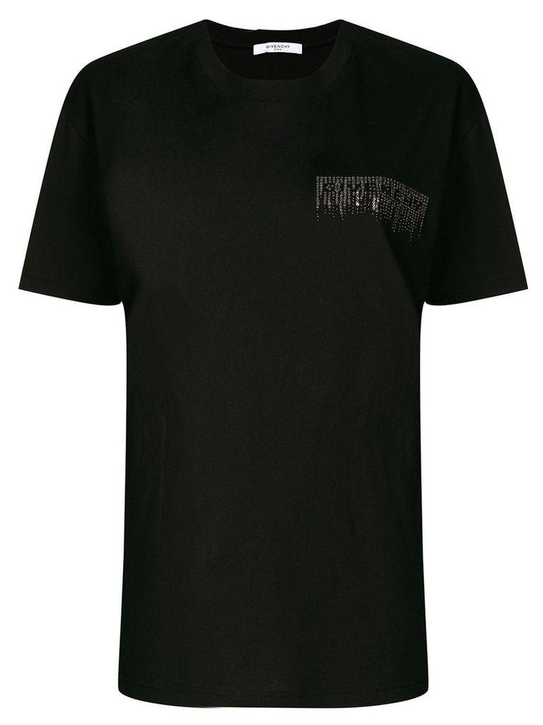 Givenchy studded logo T-shirt - Black
