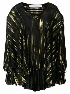 Iro Adore metallic sheen blouse - Black