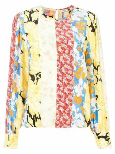 Stine Goya Karolina floral blouse - Yellow