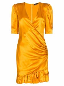 De La Vali Shanna silk dress - ORANGE