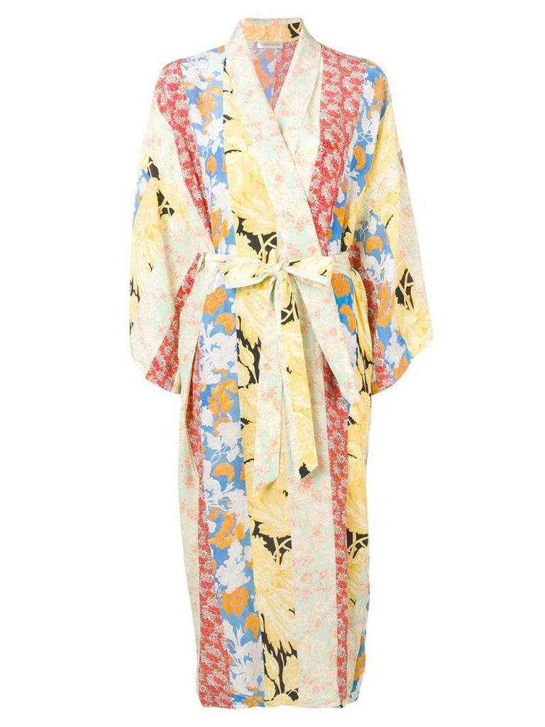 Stine Goya Nat kimono dress - Yellow