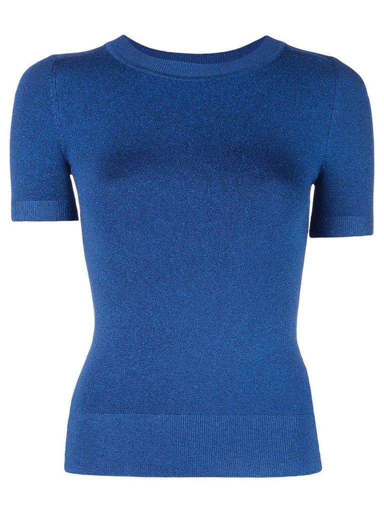 JoosTricot lurex knitted top - Blue