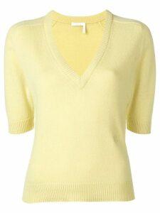 Chloé v-neck jumper - Yellow