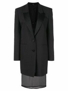 Neil Barrett tuxedo jacket dress - Black