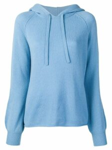 Vince knitted hoodie - Blue
