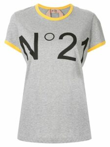 Nº21 logo t-shirt - Grey