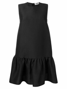 MSGM short flared dress - Black