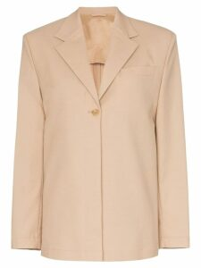 Wright Le Chapelain Weekend button-down blazer jacket - Neutrals
