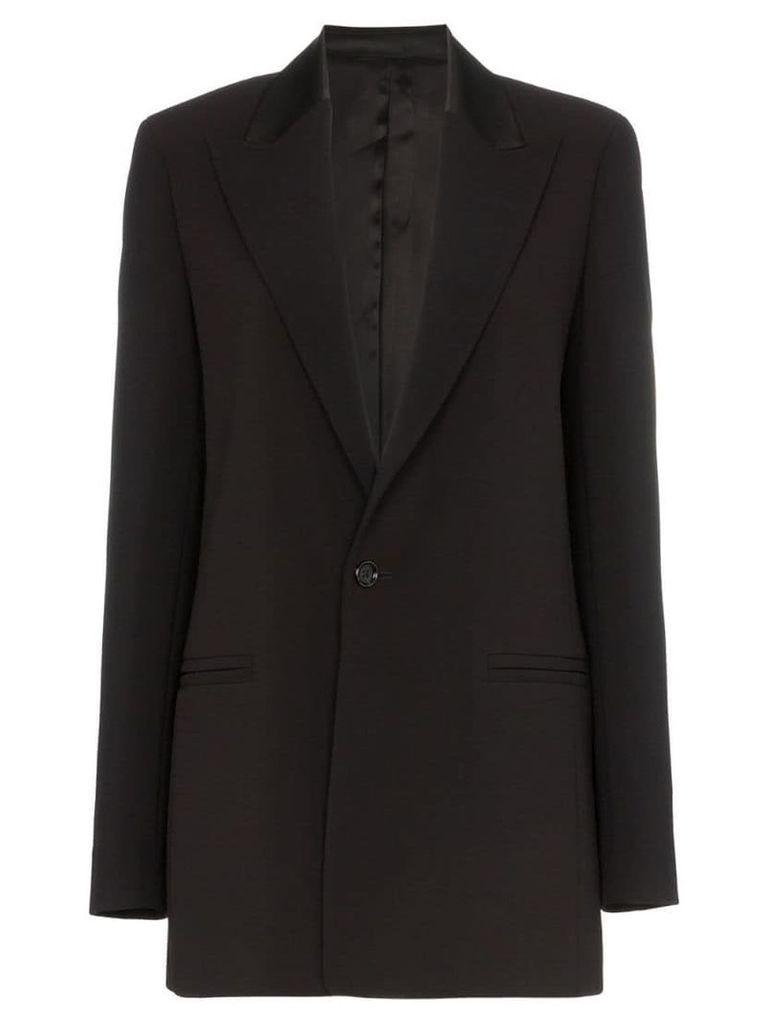 Joseph Trenton single-breasted blazer jacket - Black