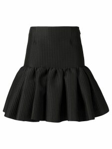MSGM short ruffled skirt - Black