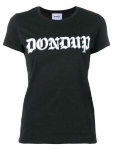 Dondup logo print T-shirt - Black