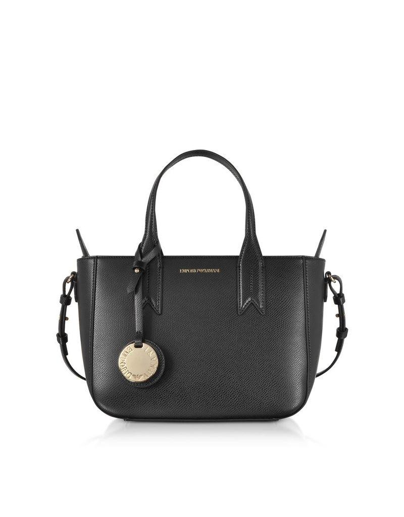Emporio Armani Designer Handbags, Small Eco Leather Tote Bag