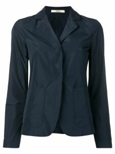 Odeeh single breasted fitted blazer - Blue
