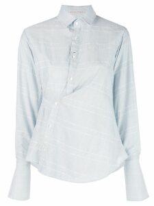 Palmer / Harding checked shirt - Blue