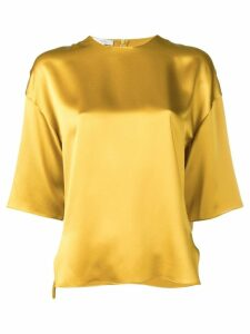 Vince metallic blouse - Yellow