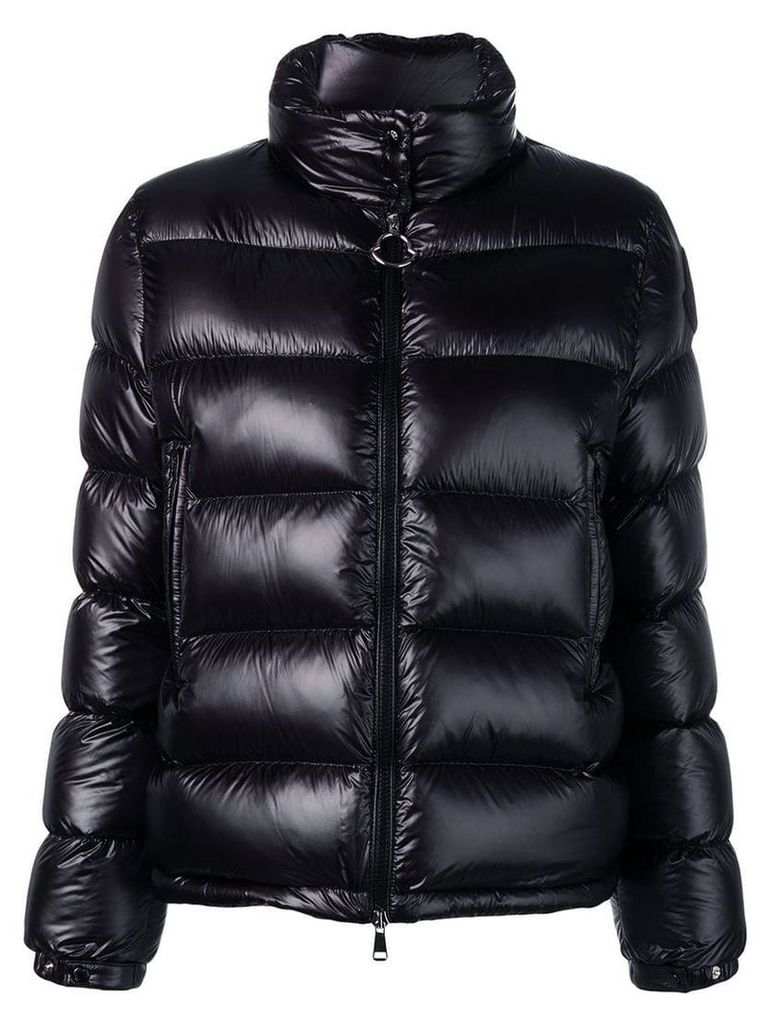 Moncler padded ski coat - Black