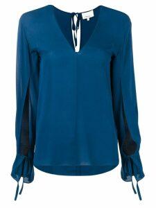 3.1 Phillip Lim split sleeves blouse - Blue