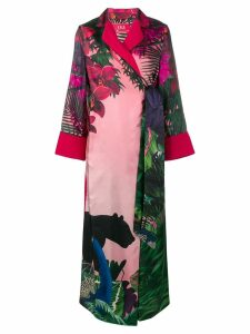 F.R.S For Restless Sleepers jungle print jacket dress - Pink
